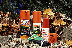 Insect repellants with DEET USDA