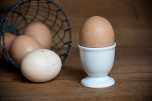 Eggs provide a rich source of choline--important for brain development and #BabyBrain. #pregnancynutrition bit.ly/2EYMMfW