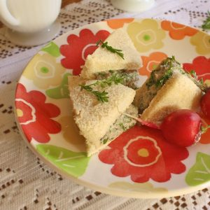 Watercress-sardine-tea-sandwiches teaspoonofspice