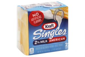 Kraft Cheese 2% Singles