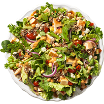 Wendy's power mediterranean salad--a healthy salad