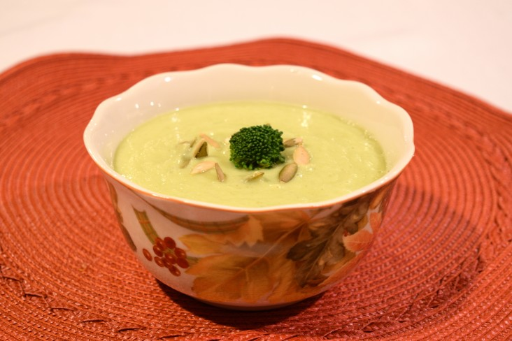 Creamy Broccoli and Avocado Soup from Triad to Wellness!