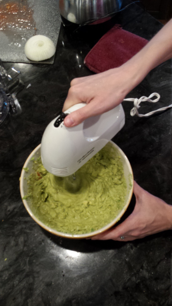 Guacamole recipe from Elissa Nutriyion