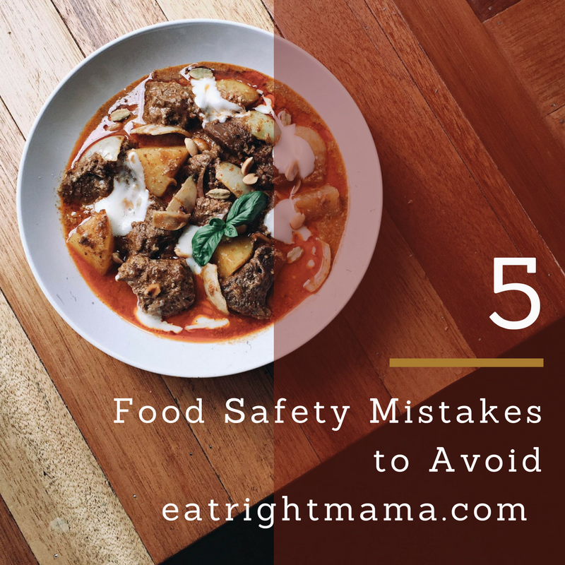 Food Safety Mistakes to avoid this Holiday Season!