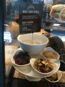 Oatmeal from Starbucks is a healthy choice! More travel tips here: bit.ly/2g1no11