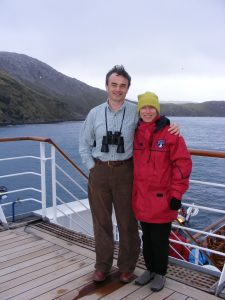 Walking on deck--even bundled up--is a great way to stay fit on a cruise. More at http://bit.ly/2g1no11