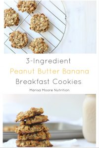 Breakfast cookies courtesy of Marisa Moore RD. More PB recipes at www.eatrightmama.com