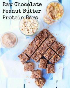 Protein AND Fiber in a tasty PB bar! More at www.eatrightmama.com