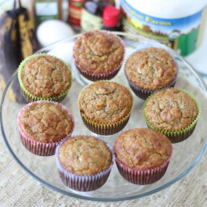 No added sugar muffins from Meme Inge RD. More almond info and recipes at eatrightmama.com