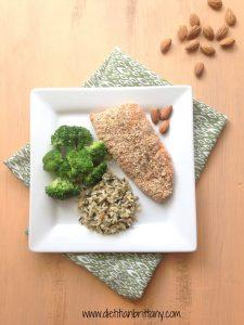 More almond recipes and info here: eatrightmama.com