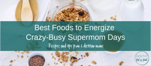 Energize yourself with these and other tips from Registered Dietitians! bit.ly/2mQNDYi