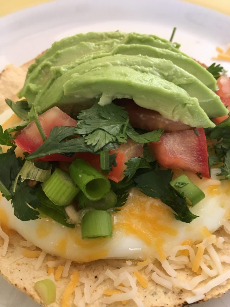 Quick Avocado Breakfast Tostada