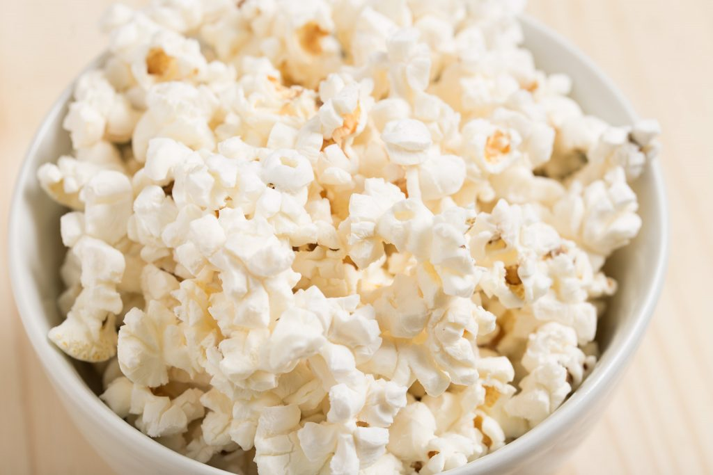 Did you know that popcorn is a healthy whole grain? More surprising advice here from Bridget Swinney RD.