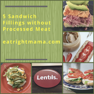 Healthy sandwich fillings without processed meats: bit.ly/2n8GpCz