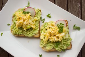 Egg and avocado toast--a great alternative to processed meats: bit.ly/2n8GpCz