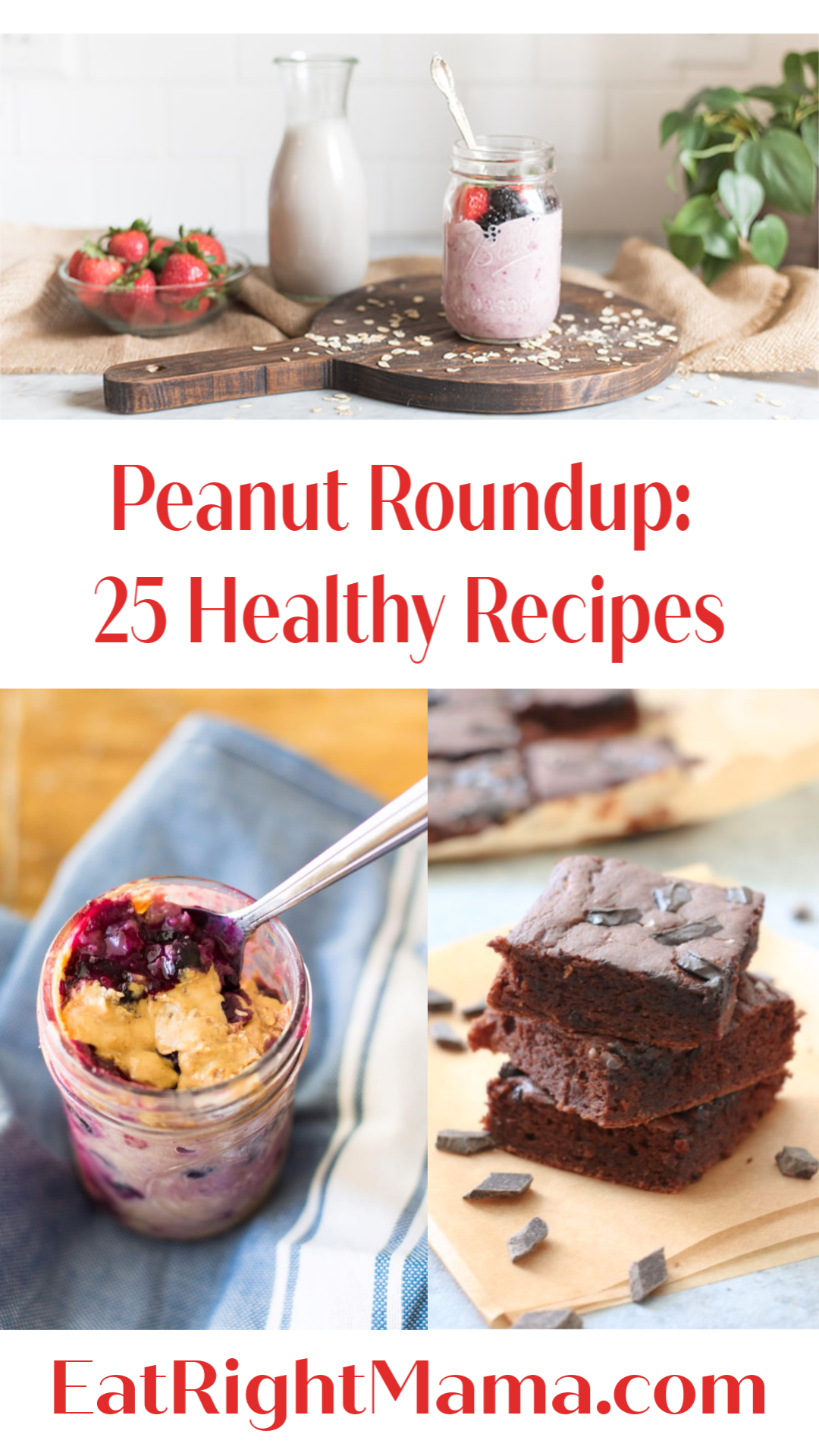 Celebrate #NationalPeanutMonth with these healthy #recipes. #peanuts #eatinghealthy /bit.ly/2Ha5vKw