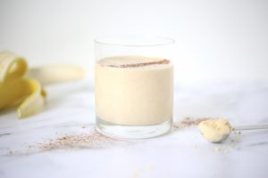 #peanutbutter banana smoothie #recipe