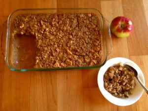 #apple and #peanutbutter baked oatmeal #recipe