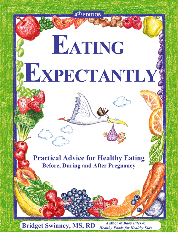 picture of the book Eating Expectantly