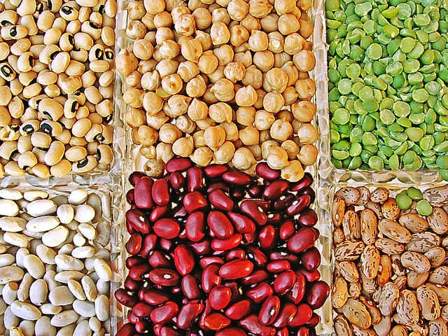 Kidney beans, chic peas, split peas, black eyed peas, pintos and lentils
