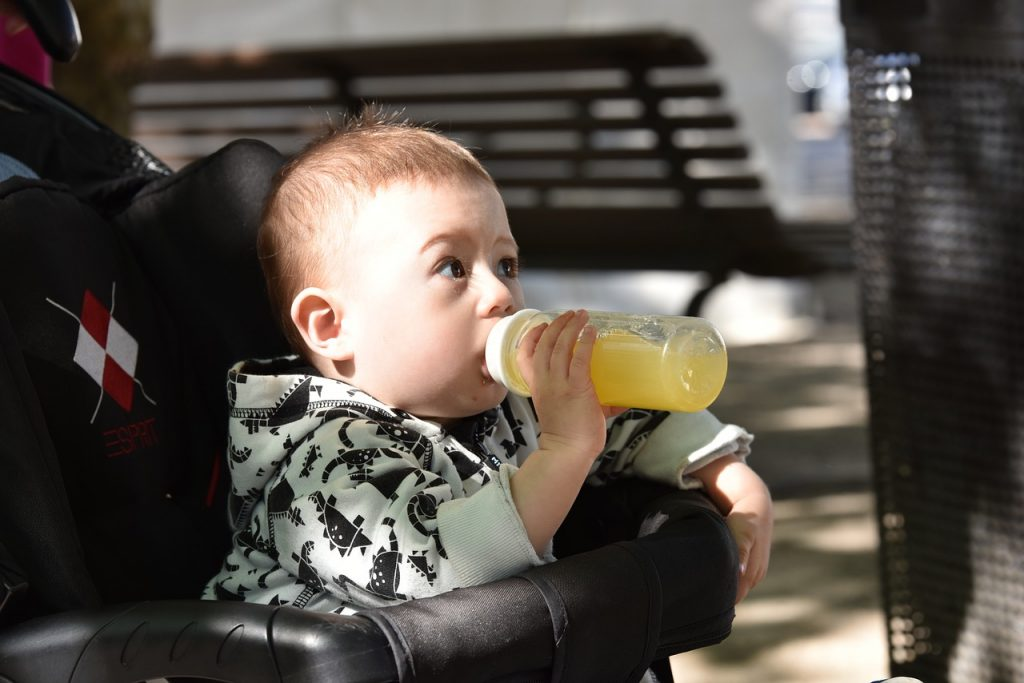 No more juice for babies says the American Academy of Pediatrics. Read more here: