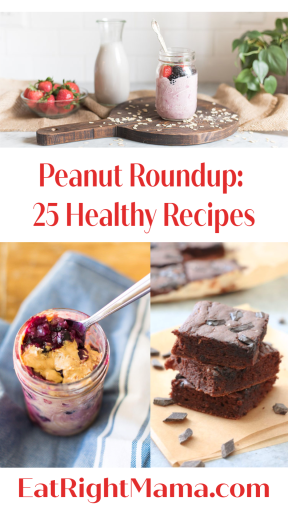 Celebrate #NationalPeanutMonth with these healthy #recipes. #peanuts #eatinghealthy