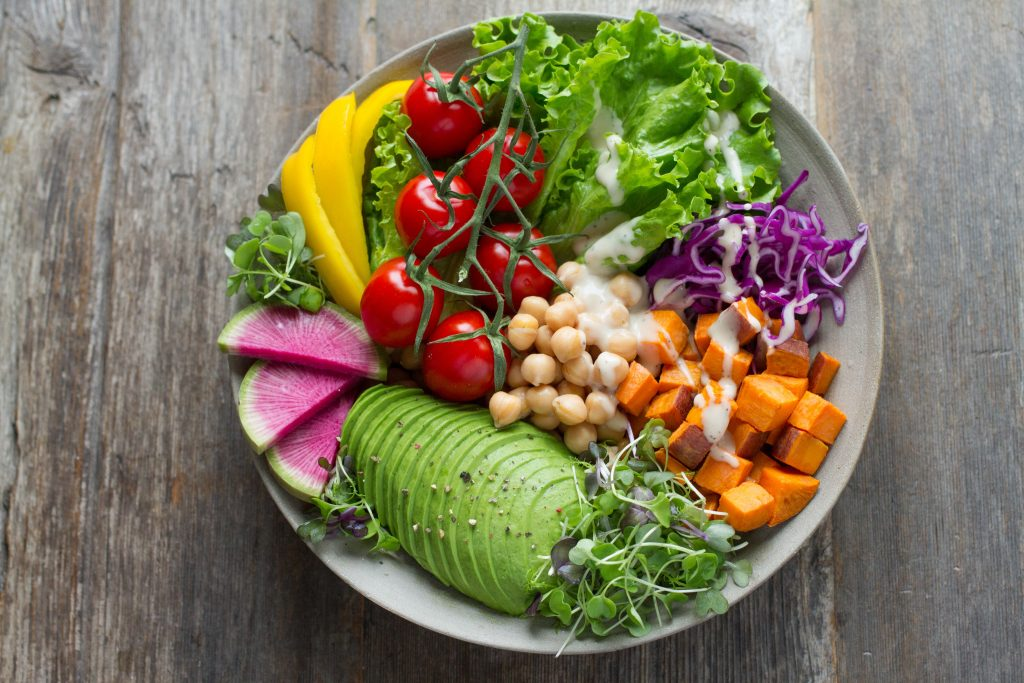 A healthy salad for summer